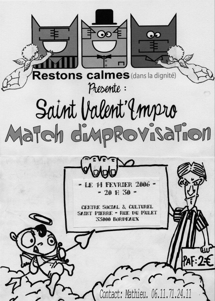 match improvisation Bordeaux
